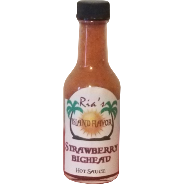 Mini Strawberry Bighead Hot Sauce